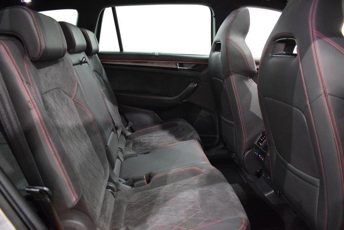2020 SKODA Kodiaq RS NS MY20.5 4X4 Brilliant Silver