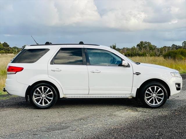 2015 Ford Territory Titanium SZ MkII WHITE