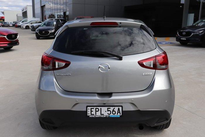 2017 Mazda 2 Maxx DJ Series Silver