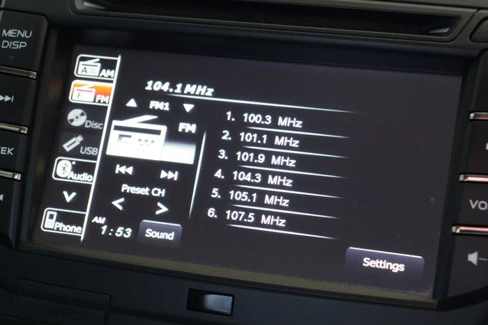 2019 Isuzu D-MAX SX High Ride MY19 White