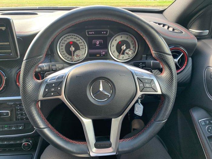 2013 Mercedes-Benz A-Class A250 Sport W176 White