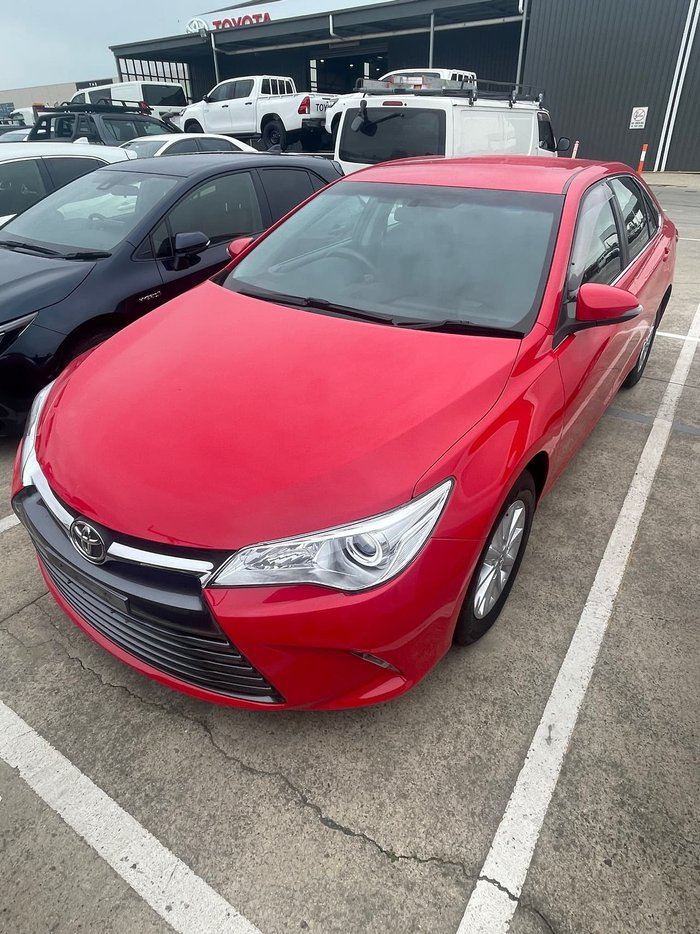 2016 Toyota Camry Altise ASV50R Red