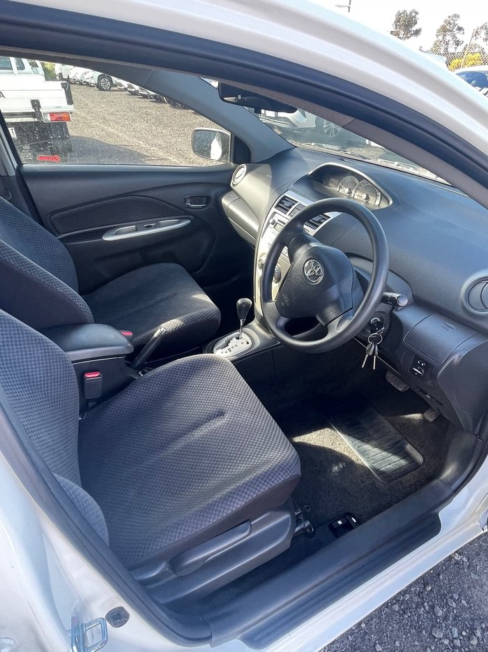 2008 Toyota Yaris YRS NCP91R White