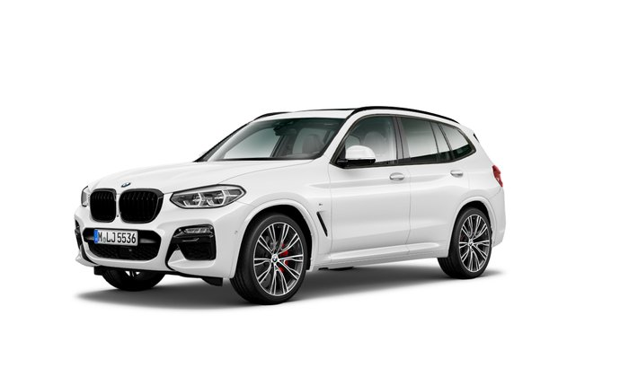 2021 BMW X3 M40i G01 4X4 Constant White
