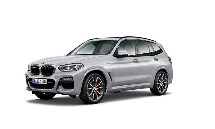 2021 BMW X3 xDrive30i M Sport G01 4X4 Constant Silver