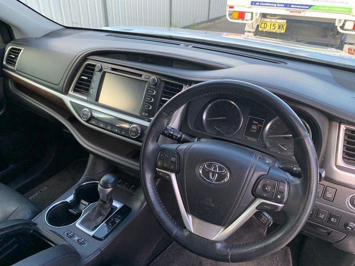 2014 Toyota Kluger Grande GSU50R Silver