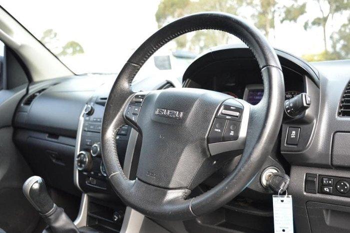 2013 Isuzu D-MAX LS-U MY12 4X4 Dual Range Titanium Silver
