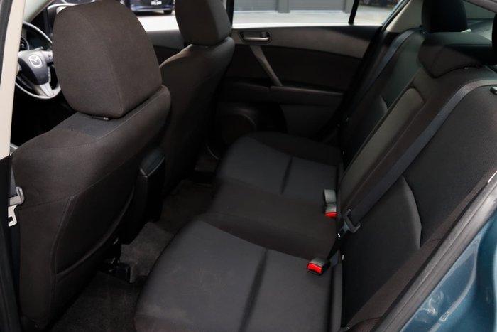 2011 Mazda 3 Maxx Sport BL Series 1 MY10 Gunmetal Blue