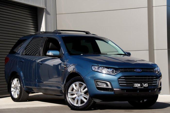 2016 Ford Territory TS SZ MkII Aero Blue