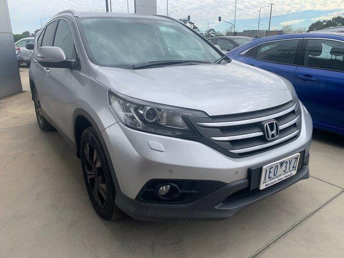 2014 Honda CR-V DTi-L RM MY14 4X4 On Demand Alabaster Silver