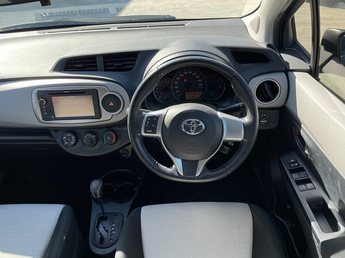 2013 Toyota Yaris YRS NCP131R Grey