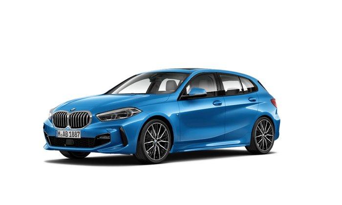 2021 BMW 1 Series 118i M Sport F40 Blue