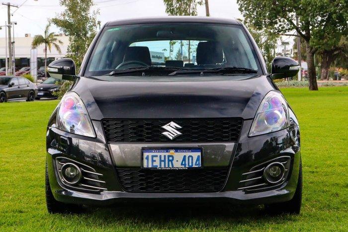 2015 Suzuki Swift Sport FZ MY15 Black
