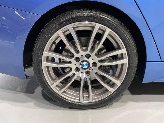 2016 BMW 3 Series 340i M Sport F30 LCI Blue