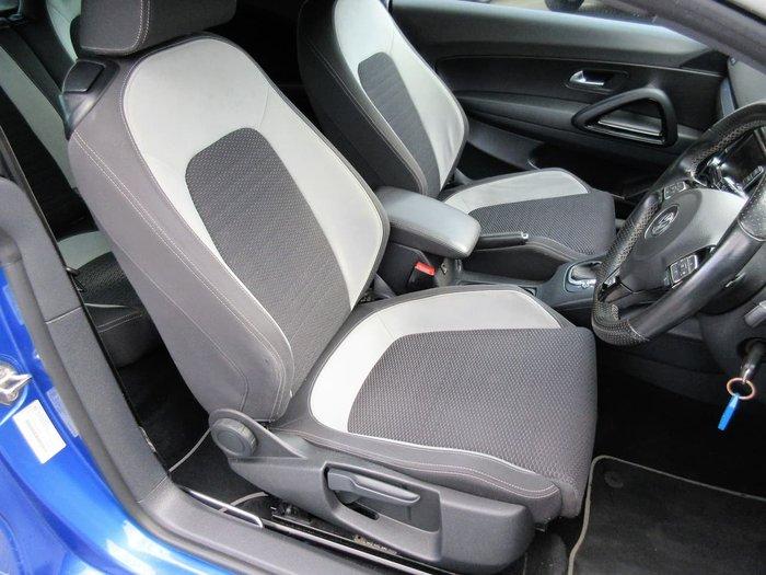 2012 Volkswagen Scirocco R 1S MY12 Blue