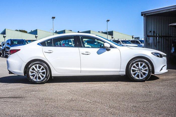 2016 Mazda 6 Touring GL Series White