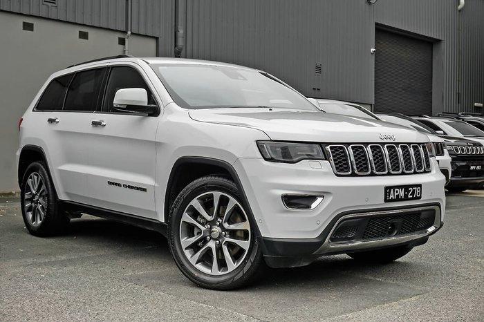 2018 Jeep Grand Cherokee Limited WK MY18 4X4 Dual Range White