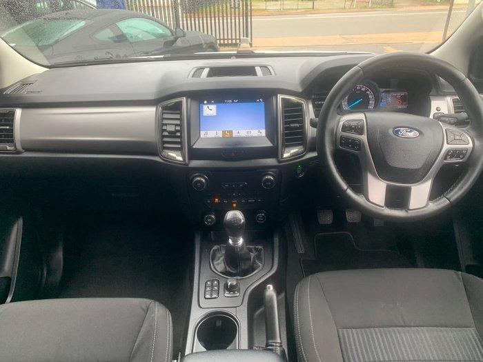 2018 Ford Ranger XLT PX MkIII MY19 4X4 Dual Range Silver