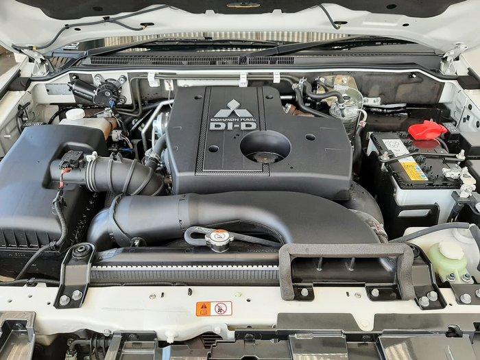 2020 Mitsubishi Pajero Exceed NX MY21 4X4 Dual Range White