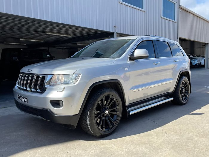 2012 Jeep Grand Cherokee Limited WK MY13 4X4 Constant Silver