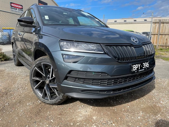 2021 SKODA Karoq 140TSI Sportline NU MY21 AWD Grey
