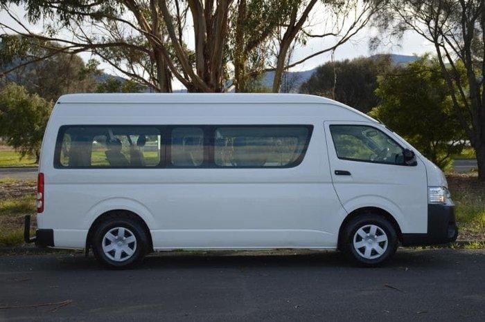 2015 Toyota Hiace Commuter KDH223R White