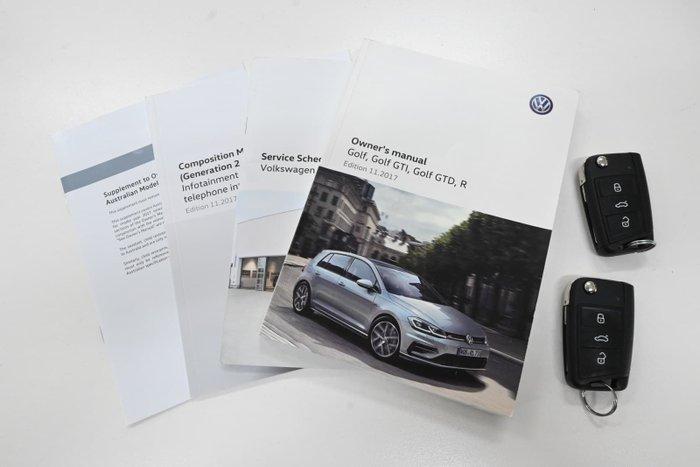 2018 Volkswagen Golf 110TSI Trendline 7.5 MY18 Tungsten Silver