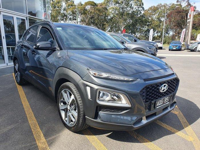2017 Hyundai Kona Launch Edition OS MY18 Black