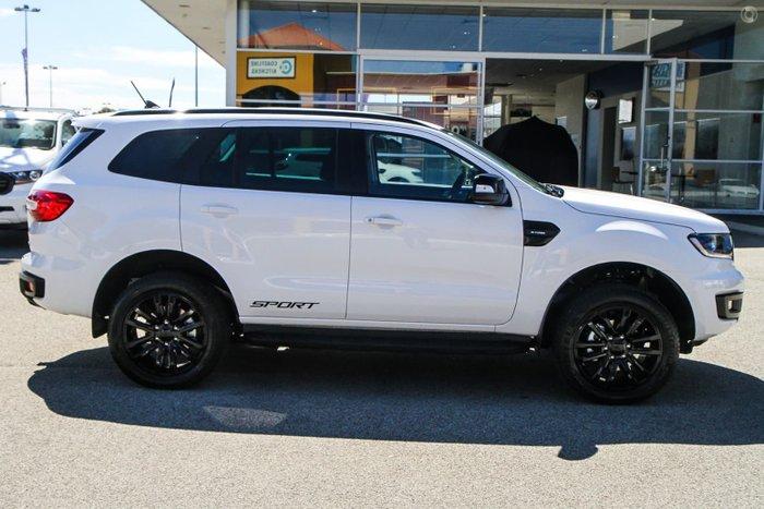 2021 Ford Everest Sport UA II MY21.75 4X4 Dual Range Arctic White