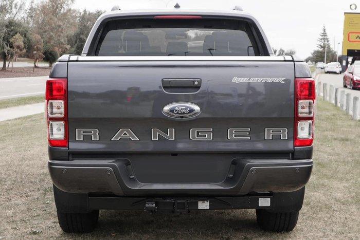 2021 Ford Ranger Wildtrak PX MkIII MY21.75 4X4 Dual Range Meteor Grey