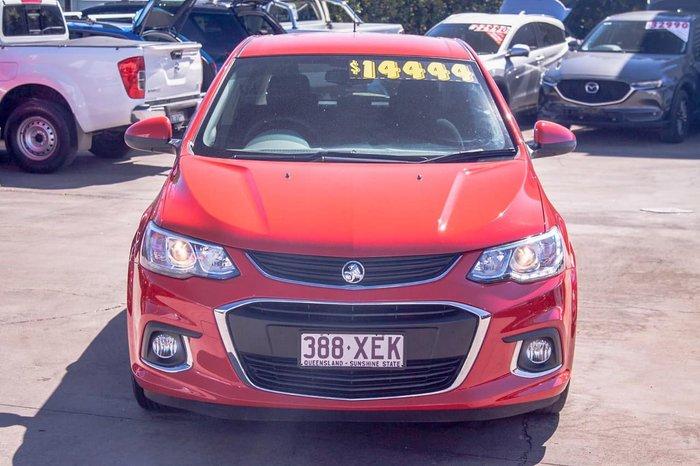 2016 Holden Barina LS TM MY17 Red