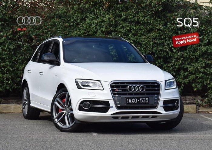 2015 Audi SQ5 TDI 8R MY15 Four Wheel Drive White