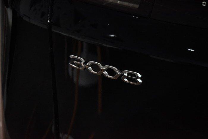 2021 Peugeot 3008 GT P84 MY21 Perla Nera Black