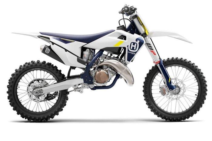 2022 Husqvarna TC125 White