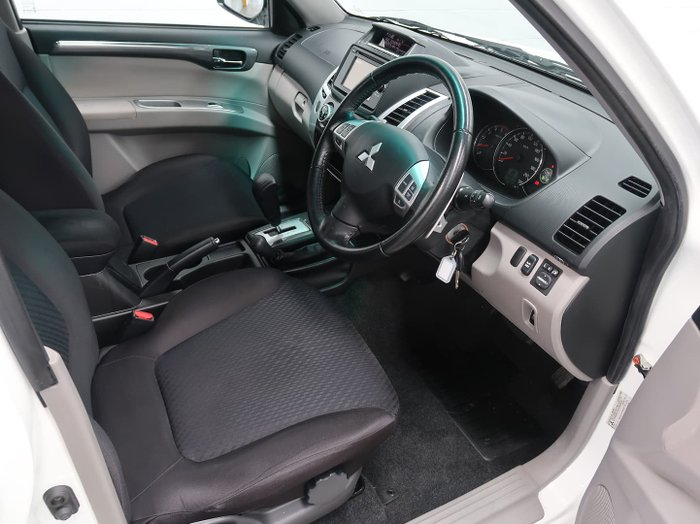 2015 Mitsubishi Challenger PC MY14 4X4 Dual Range White