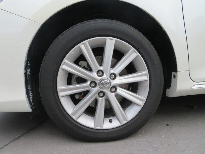 2014 Toyota Aurion Presara GSV50R White