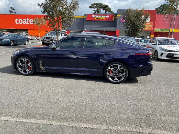 2017 Kia Stinger GT CK MY18 Blue
