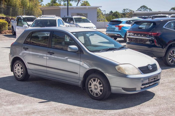 2002 Toyota Corolla Ascent ZZE122R MY03 Cascade Blue