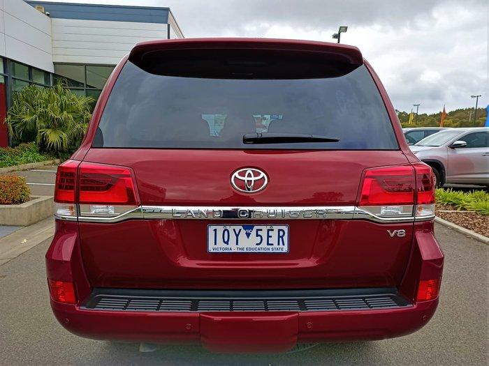 2020 Toyota Landcruiser VX VDJ200R 4X4 Dual Range Red