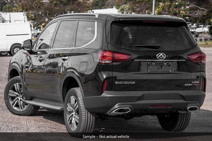 2021 LDV D90 Executive SV9A 4X4 Dual Range Drive Type: Metal Black