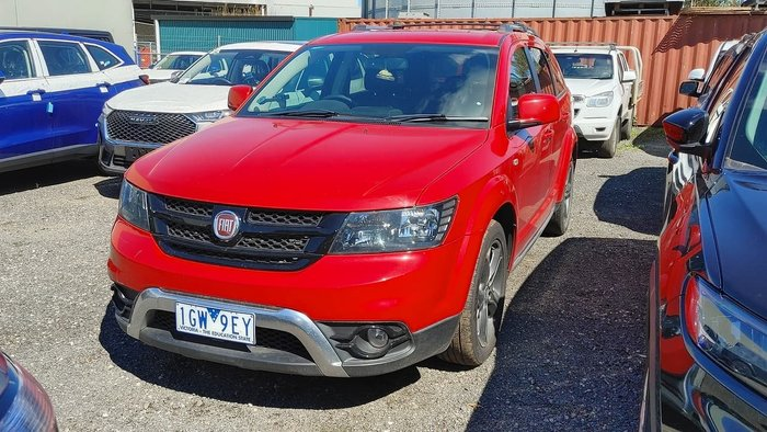 2016 Fiat Freemont Crossroad JF MY15 Red