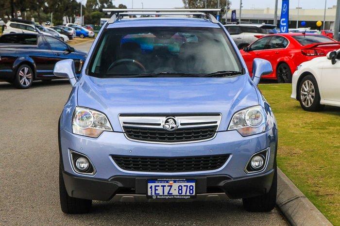 2015 Holden Captiva 5 LTZ CG MY15 Blue