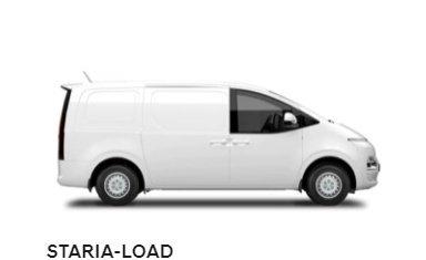 2021 HYUNDAI STARIA US4.V1 STARIA LOAD LR 2S 2.2D LFTBK AUTO CREAMY WHITE