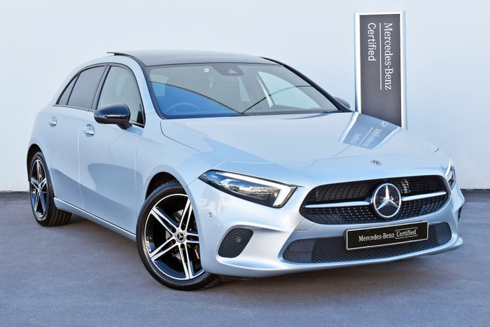 2018 Mercedes-Benz A-Class A200 W177 Iridium Silver