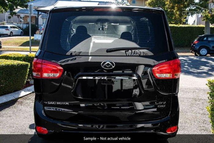 2021 LDV G10 + SV7C Drive Type: Obsidian Black