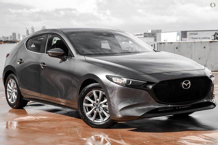 2021 Mazda 3 G20 Pure BP Series Machine Grey