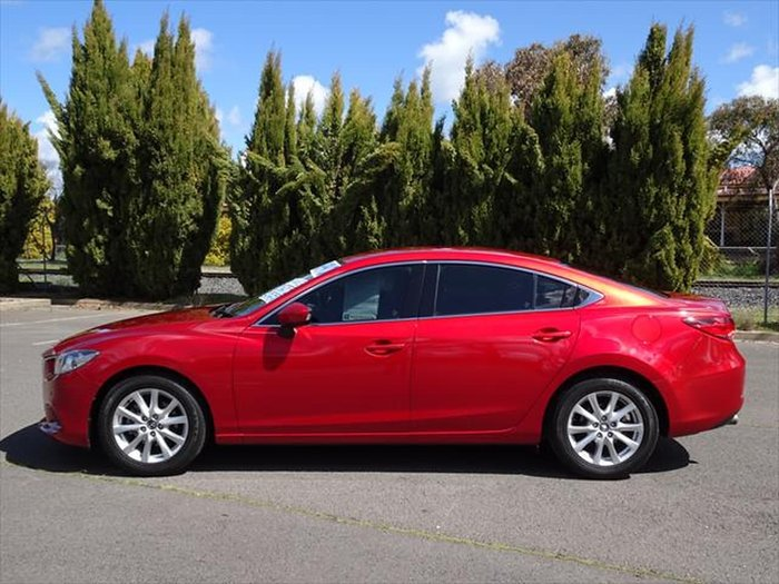 2013 Mazda 6 Touring GJ Red