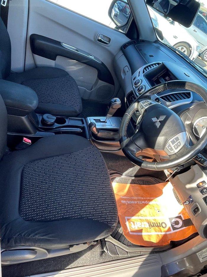 2013 Mitsubishi Triton GLX-R MN MY14 4X4 Dual Range Ironbark