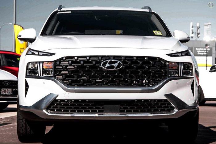 2021 Hyundai Santa Fe Elite TM.V3 MY21 4X4 On Demand White