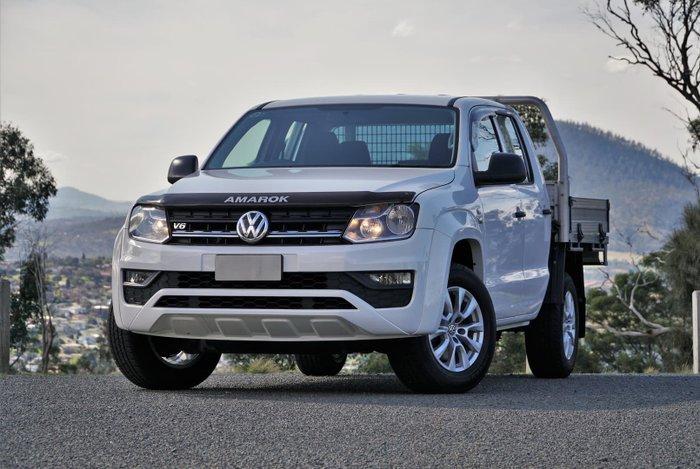 2018 Volkswagen Amarok TDI550 Core 2H MY19 4X4 Constant Candy White